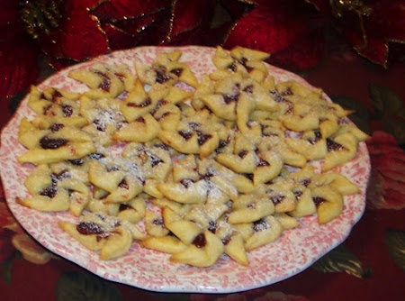 FINNISH  COOKIES  JOULUTORT STARS Recipe