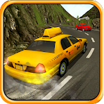 Crazy Hill Speed Taxi Driving 3D Icon