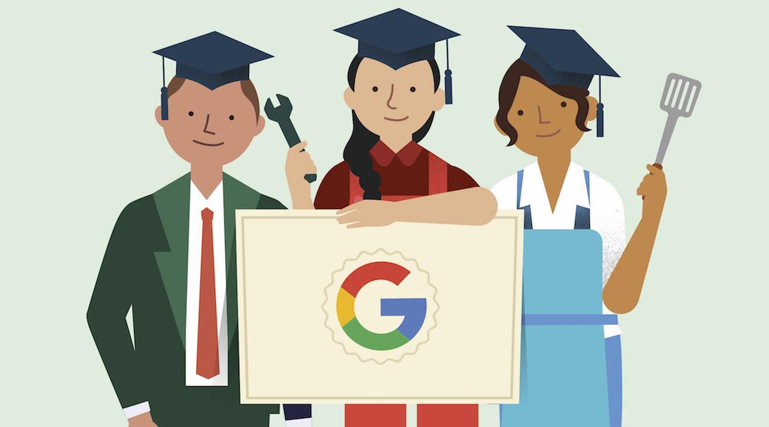 Google數位學程協助協助取得Google數位認證。