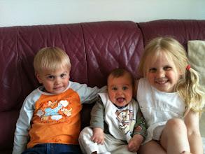 Photo: Met mijn broer en zus!