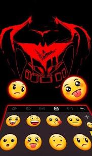 Red Hero Keyboard Theme - náhled