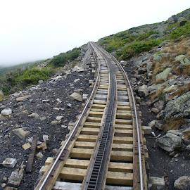 by Barbara Boyte - Transportation Railway Tracks (  )