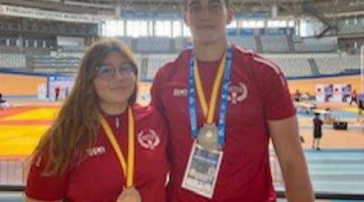 Los judokas almerienses brillan en el Campeonato de España Junior
