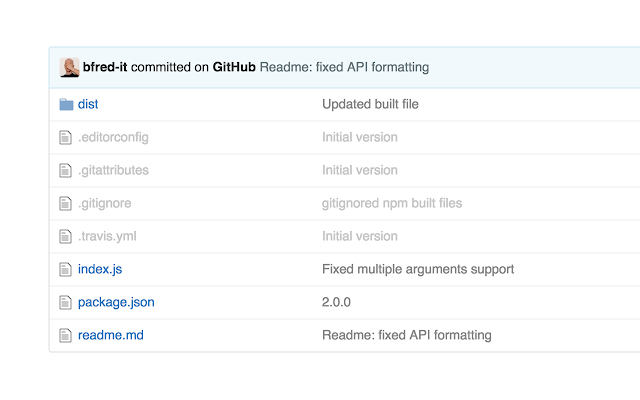 Dim Files on GitHub