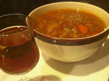 Lentil Soup, Greek Style (Fakes) Recipe
