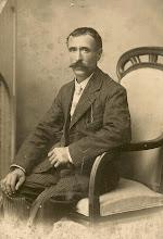Photo: besavi patern per part de l'àvia Jacint Lloret i Hostench (Sant Feliu de Guíxols), ebenista, es casà amb Assumpta Portés i Reynes, natural de Tossa de Mar, on va néixer el 5-5-1871, morí a Guadalajara (Mèxic), el 2-12-1956 S'instal·laren a Sant Feliu de Guíxols, on naixeren el seus fills, Lola Lloret i Portés, la meva àvia paterna, i els seus germans, Santiago –casat amb Rosa Parera Daví, teixidora de Sabadell– i Lluís –casat amb Empar Cortés i Sanchis, d'Ontinyent.
