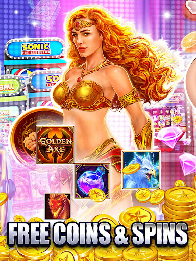 SEGA Slots: Free Coins, HUGE Jackpots and Wins 138 screenshots 2