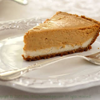 Double-Layer Pumpkin Cheesecake.