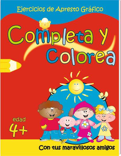 Cuaderno Completa Y Colorea Completa y Colorea