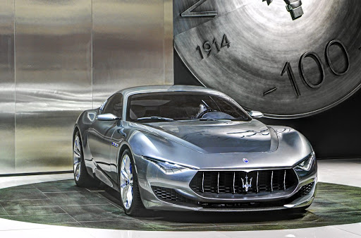 Maserati will introduce the Alfieri as a plug-in hybrid or full-electric model in 2020.   Picture:  NEWSPRESS UK