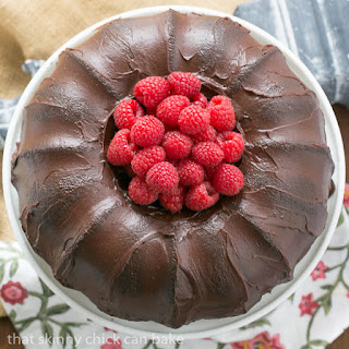 Chocolate Buttermilk Bundt Cake #TwoSweetiePies