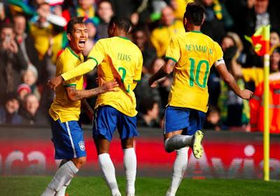 Overzicht oefeninterlands: Brazilië doet het zuinig tegen Chili