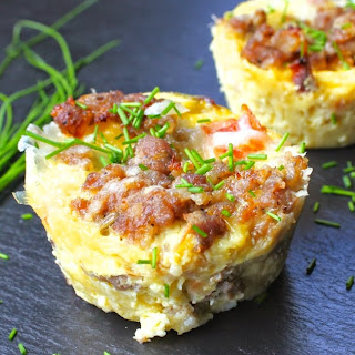 Sausage and Egg Breakfast Casserole Bites