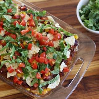 Easy to Make Taco Casserole.