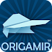 Origami: how to make paper flying airplanes icon
