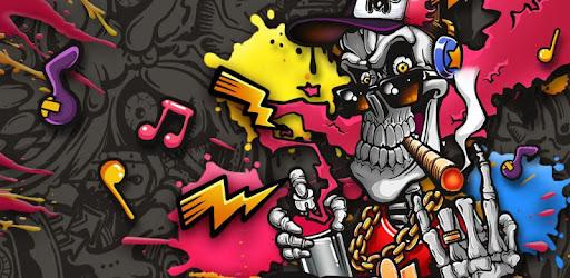 Download 84 Gambar Grafiti Tengkorak Api Terbaik