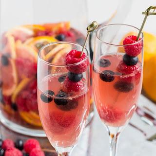 Fruity Moscato Sangria.