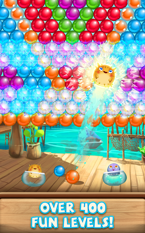 Bubble Fish Mania- screenshot