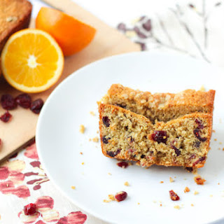Vegan Cranberry-Orange Oatmeal Bread