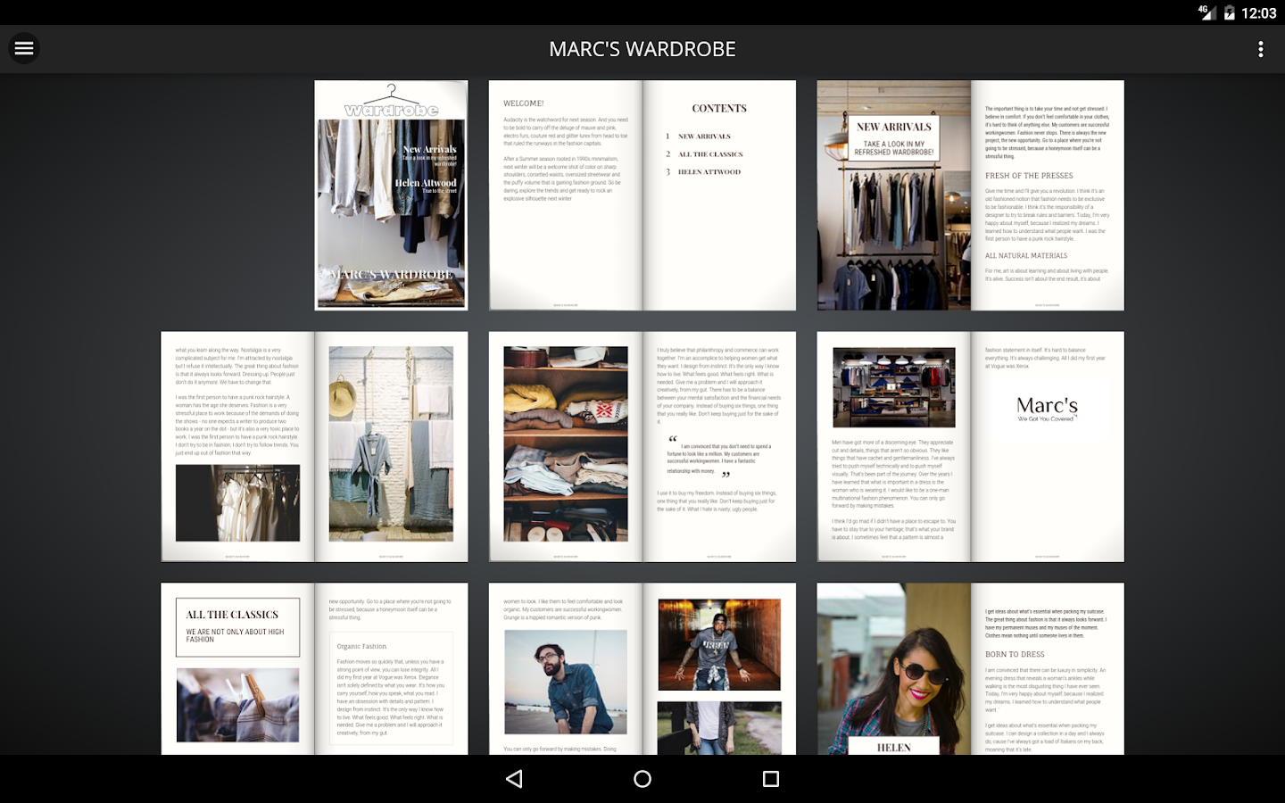 MYWO Mags - Magazine Creator- screenshot