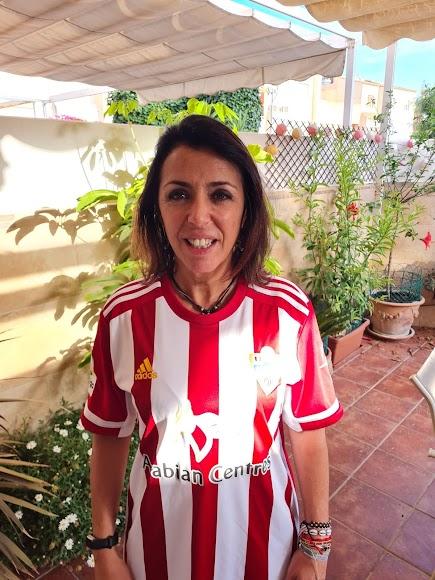 Marta Bosquet también con su equipo.