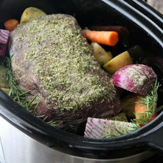 Ranch-Style No-Thaw Pot Roast.