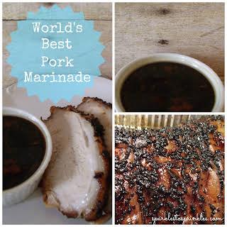 World's Best Pork Marinade.
