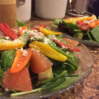 Springtime Sweet & Tangy Salad.