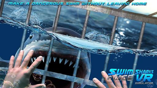 Swim Sharks In Cage VR Simulator 2.1 screenshots 6