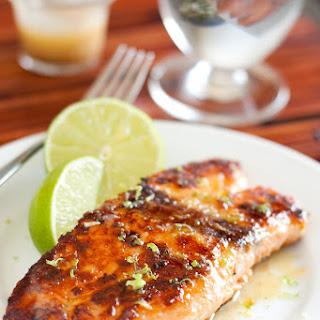 Pan Seared Honey Glazed Salmon with Browned Butter Lime Sauce – the Best Salmon I'Ve Ever Eaten Recipe