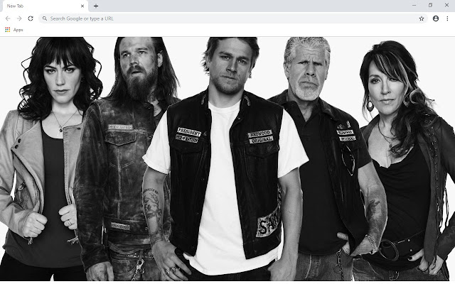 Sons of Anarchy New Tab Theme