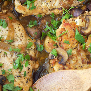 Simple and Healthy Chicken Marsala.