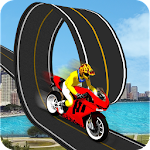 Racing Moto Bike Stunt : Impossible Track Icon