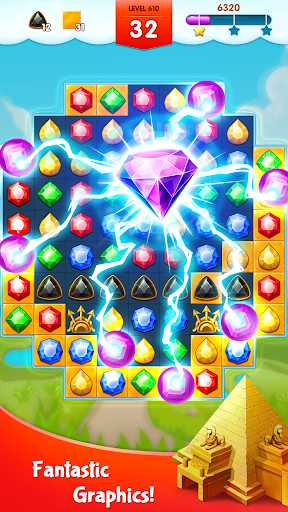 Jewels Legend - Match 3 Puzzle screenshots 3