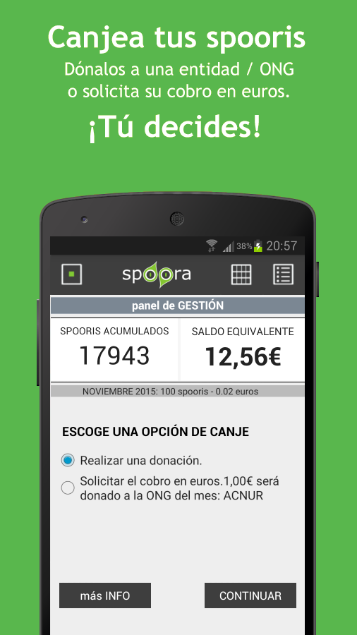 Spoora- screenshot