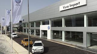 Instalaciones de Veraimport para el servicio de Wolksvagen.