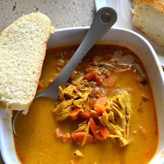 Chicken Curry Soup Recipe
