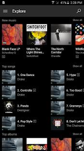 Microsoft Groove Screenshot 1