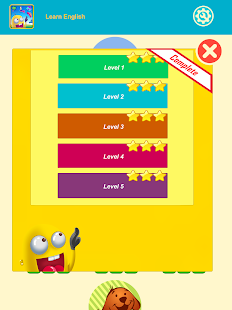 English Vocabulary:puzzle game- screenshot thumbnail
