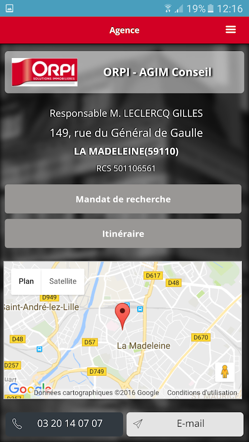 Orpi Immobilier La Madeleine Android Apps On Google Play