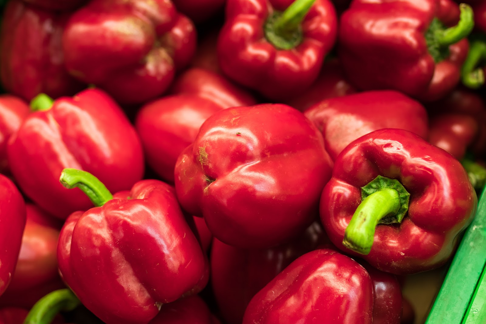 Red peppers are good for eyesight