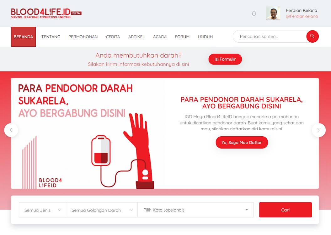 Halaman Muka Website