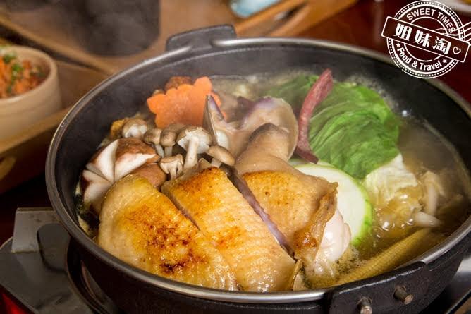 大手町祕境巴西蘑菇黑羽土雞鍋