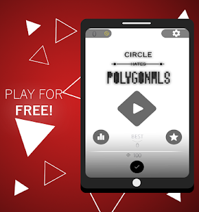 Circle Hates Polygonals - náhled