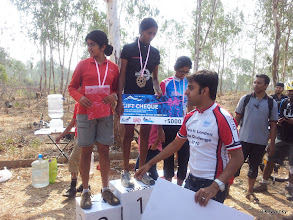 Photo: Winner got a cash prize of 2k along with a chance to participate in MTB Shimla weekend edition!