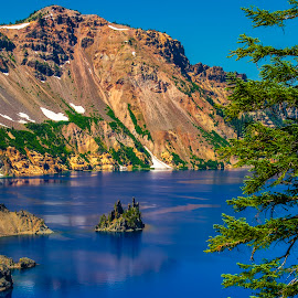Crater Lake by Stanley P. - Landscapes Waterscapes (  )