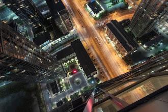 Photo: Generic Vertigo Inducing Shot I don't know...these generic vertigo inducing shots just aren't doing it for me any more. However, I still take them in case of emergencies.  #toronto  #rooftopping  #urbex  #urbanexploration #vertigo