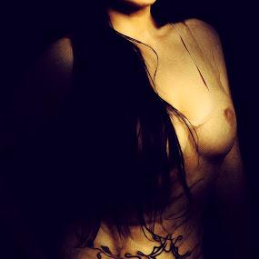 Paint.. by Emanuel Correia - Digital Art People ( photo nude art oil )