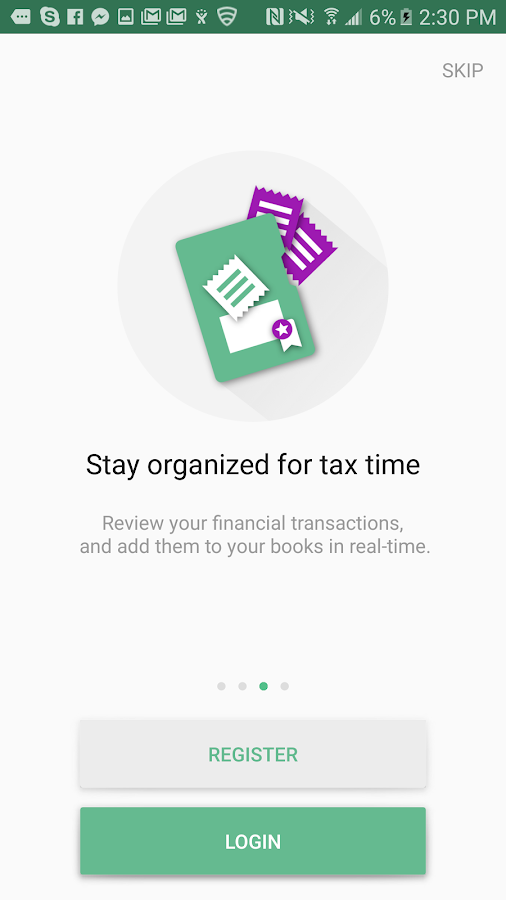 IQBoxy - Receipts & Expenses- screenshot