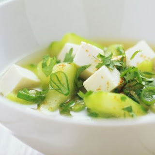 Miso Broth with Tofu